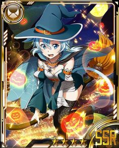 Sinon the Witch Card