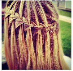 Waterfall braid!!:)