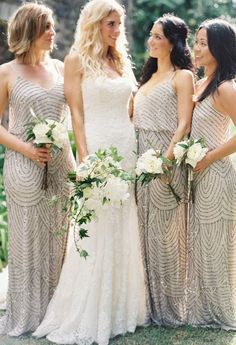 Featured Photographer: Bryce Covey Photography; bridesmaid dress idea;