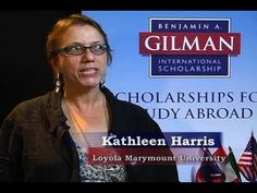 DUE 3/3/15 Pell-Grant Recipients should be applying for the Gilman - Gilman Scholarship Essay Advice.wmv