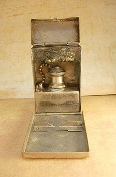 Antique Medic Box Sterilizer Burner