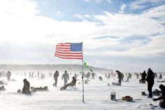 Typical winter day in Brainerd, Minnesota!