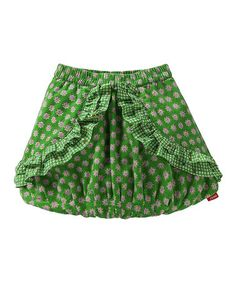 Take a look at this Green Suze Skirt - Toddler & Girls by Oilily on #zulily today!