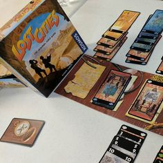 Sunday Afternoon Gaming: Lost Cities! I lost... :) #boardgames