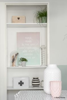 Black white and pastels styling livingroom ©BintiHome-10
