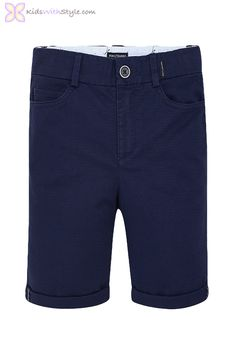 Boys Formal Chino Shorts in Navy Young Boys Fashion, Boy Fashion, Fashion Outfits, Spring Fashion, Chino Shorts, Boy Shorts, Junior Outfits, Boy Outfits, Cool Boys Clothes