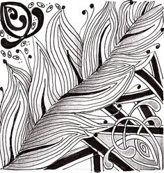 zentangle pattern ideas | Untangle your Thoughts as you Zentangle with us – Adult & Senior