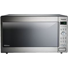 The Panasonic NN-SE982S microwave stands out with its multiple cooking options, unique inverter technology and sophisticated design.