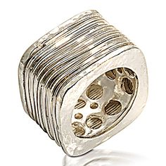 Our Universe Ring is a sculptural work of art!    http://silverelementscollection.com/featuredslider/universe-ring