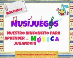Musijuegos Online Music Lessons, Music Web, Music Activities, Music For Kids, Music Class, Teaching Music, Teacher Hacks, Musicals, Homeschool