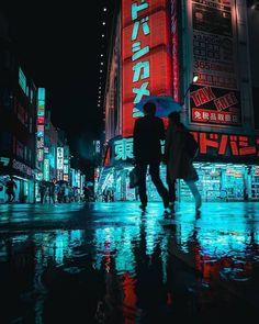 vaporwave city Cyberpunk Cities: Photos by Teemu Jarvinen Inspiration Grid Cyberpunk City, Ville Cyberpunk, Cyberpunk Kunst, Cyberpunk Aesthetic, Neon Aesthetic, Aesthetic Themes, Vaporwave, Urban Photography, Night Photography