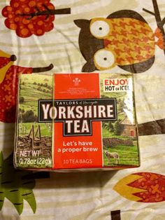 All about the Lazy Mom Life: Yorkshire Tea Review