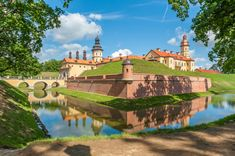 Nesvizh Castle, Belarus puzzle in Castles jigsaw puzzles on TheJigsawPuzzles.com. Play full screen, enjoy Puzzle of the Day and thousands more.