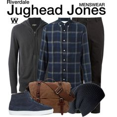Inspired by Cole Sprouse as Jughead Jones on Riverdale.