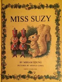Suzy squirrel story