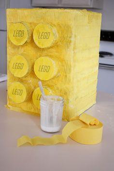 Lego Pull Pinata - delia creates