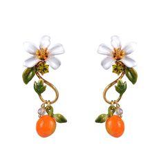 Jardins de Provence earrings Les Nereides