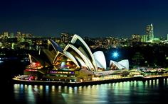 Wallpaper cool, paradise, fantastic, city blue, sydney, stadium, places