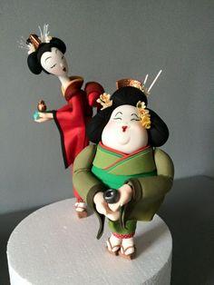 Based on Carlos Lischetti figurines