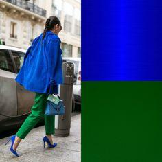 Come abbinare i colori? Ecco tutte le combinazioni possibili! Colour Combinations Fashion, Color Combinations For Clothes, Color Blocking Outfits, Fashion Colours, Colorful Fashion, Look Fashion, Fashion Outfits, Fashion Design, Fashion Trends
