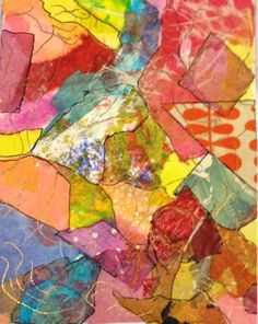 by Fiona, a old! Carol Ann, Inspirational Artwork, Colorful Artwork, Abstract Painters, Types Of Art, Art Blog, Framed Art, Projects To Try, Paper Crafts