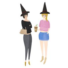 """""""Like, total basic witches"""""""