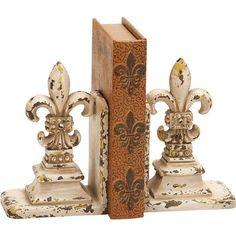 I pinned this Bordeaux Bookend (Set of 2) from the Grove Street Designs event at Joss and Main!