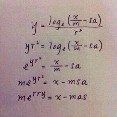 Kerstwens voor wiskundigen