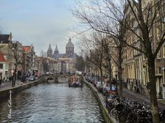 Travel in Clicks: In Amsterdam Canals