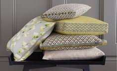 Innovative Curtains and Blinds Upholstery Trim, Upholstery Fabrics, Orange Braun, Romo Fabrics, Bed Pillows, Cushions, Gorgeous Fabrics, Designers Guild, Fabric Wallpaper