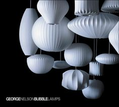 Bubble Lamps by George Nelson