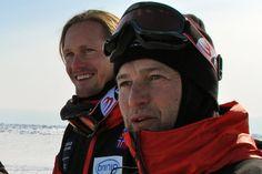 Alexander Skarsgård and Lars Arentz-Hansen in Beyond the Pole