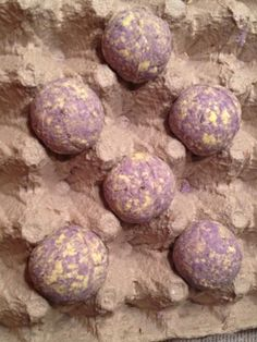 Lavender and Chamomile Bath Bombs