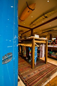 Drifter Surf Shop - Bali Surf Live, Surf Store, Beach Stores, Decoration Stickers, Dive Shop, Surf Design, Shop Fittings, Surf Shack, Store Fixtures