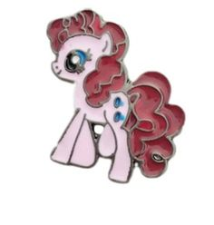 Brand New My Little Pony PINKIE PIE Metal Enamel Costume Pin  Pin Measures 3/4 Inch Tall  Comes With Secure Military Backing