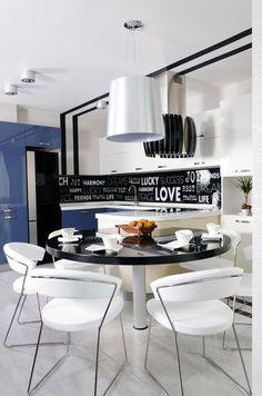 Cocina con tipografía  #cocinas #kitchens