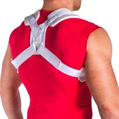 Broken Clavicle Brace Figure 8 Splint for Collarbone Fractures - XL Fracture Healing, Bone Fracture, Shoulder Surgery Recovery, Shoulder Brace, Shoulder Posture, Posture Support, Collar Bone, Physical Therapy