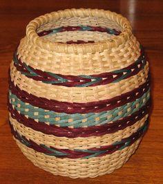 Earth and Fire - Lisa Adkins -BasketWeavingSupplies.com - Product Catalog