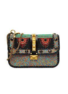 Valentino Tribal Embellished Bag.