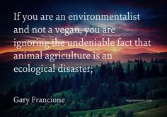"""If you are an environmentalist and not a vegan, you are ignoring the undeniable fact that animal agriculture is an ecological disaster; Go vegan Margaret Mead, How To Become Vegan, Animal Agriculture, Why Vegan, Environmentalist, Save The Planet, Vegan Lifestyle, Poster On, Plant Based Diet"
