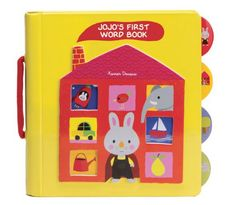 Jojo's First Word Book by Xavier Deneux: Cute for Easter.