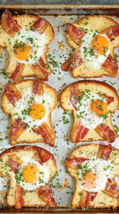 Sheet-Pan Egg In A Hole