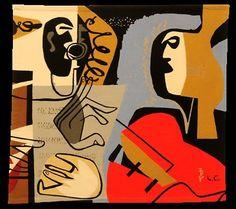 "Le Corbusier, Les Deux Musiciens Manufactura Tapeçarias de Portalegre [""Nós na Arte - Tapeçarias de Portalegre e Arte Contemporânea""]"