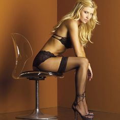 Silicone Stay Up Lace Top Stockings