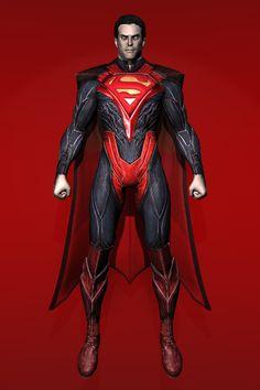 Injustice : Gods Among Us - Superman [Regime] by IshikaHiruma on deviantART