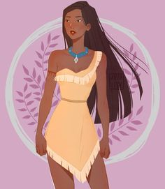 Pocahontas by WeiPo