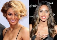 Celebrity Hair Changes 2013: Ciara Wears A Longer, Dark Hair!