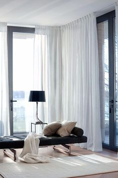 The concept of Himla is made to set the mood and create an atmosphere in all the rooms of your home. Decorate with curtains, pillows, throws and rugs. Home Living Room, Living Room Decor, Living Spaces, Bedroom Decor, Living Room Furniture Layout, Living Room Designs, Room Interior, Home Interior Design, Living Room Inspiration