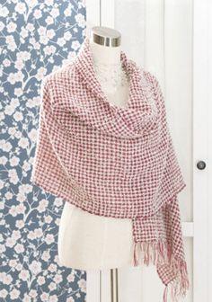Shawl Marenki, weaving pattern (Tekstiiliteollisuus, photo Beata Kinnarinen) / Marenki-huivi, kudontaohje (Tekstiiliteollisuus, kuva Beata Kinnarinen)