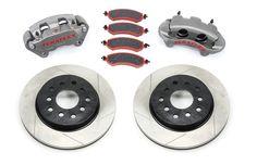 JK Front Big Brake Kit W/Slotted Rotors 07-Pres Wrangler JK TeraFlex